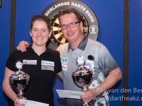 Sharon en Rick winnaars