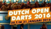 Nog 7 dagen inschrijven voor de Dutch Open Darts 2016