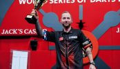 Noppert knap tweede op World Series of Darts 2019