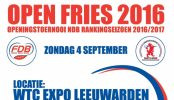 Open Fries 4 september: kom jij ook?