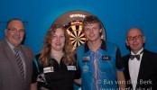 Friese darters domineren Open Luxemburg